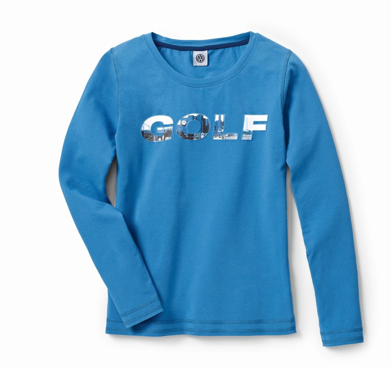 Camiseta de manga larga para mujer, colección GOLF