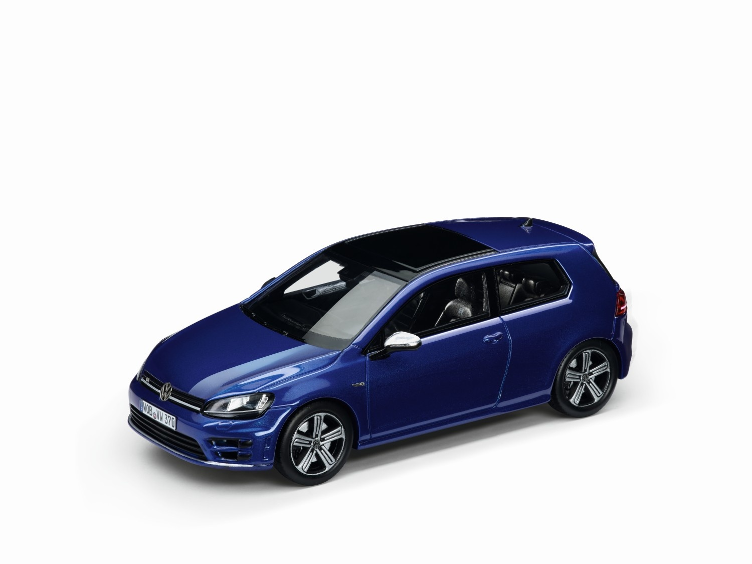 Golf VII R, escala 1:43