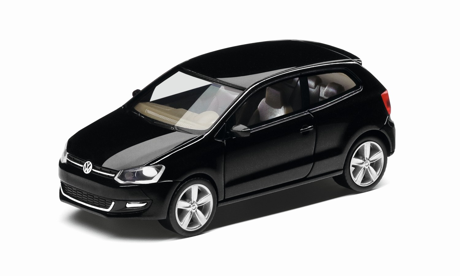 Polo A5 negro, escala 1:87