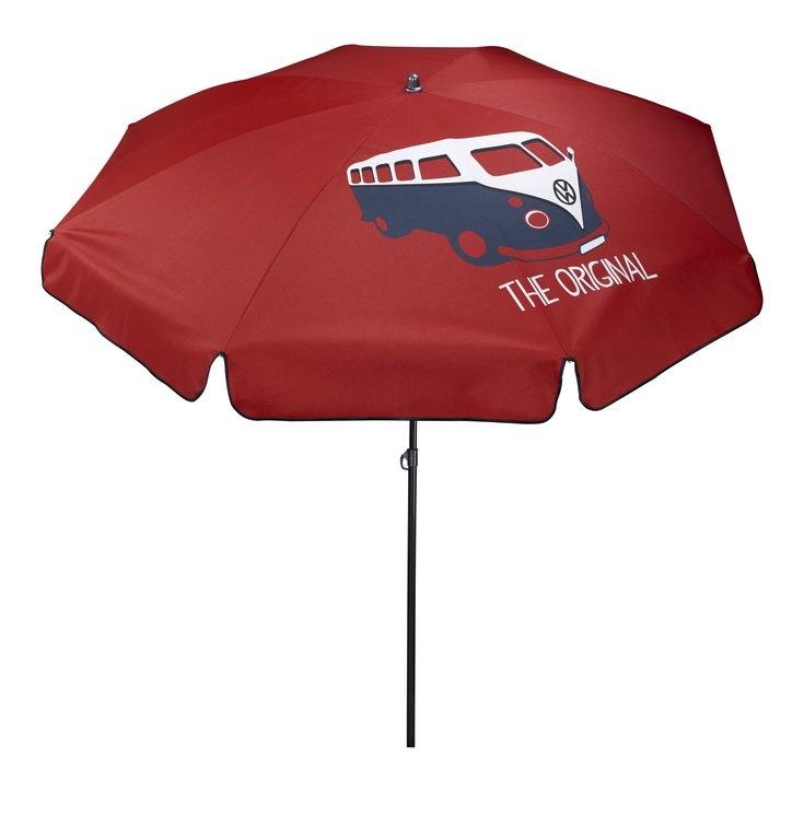Parasol Bulli en rojo.