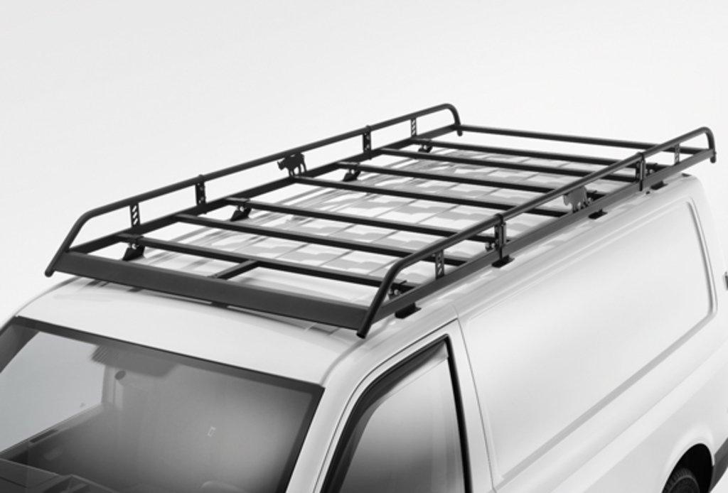 Cesta para equipaje distancia larga entre ejes, techo normal. Para T5 y T6