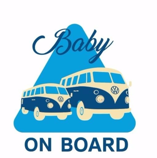 ADHESIVO BABY ON BOARD