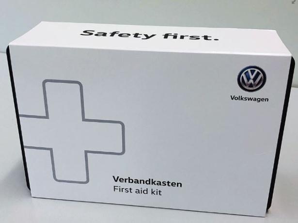 Volkswagen 000093113BS Botiqu/ín de Primeros Auxilios Color Rojo
