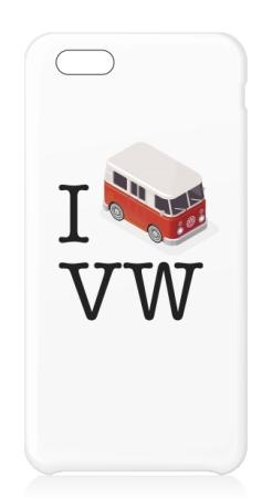 Funda Iphone6 - I Love VW