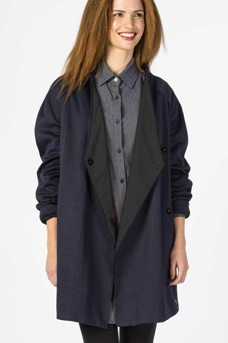 Nuevo 2016 invierno mujeres abrigos mujer chaquetas Real