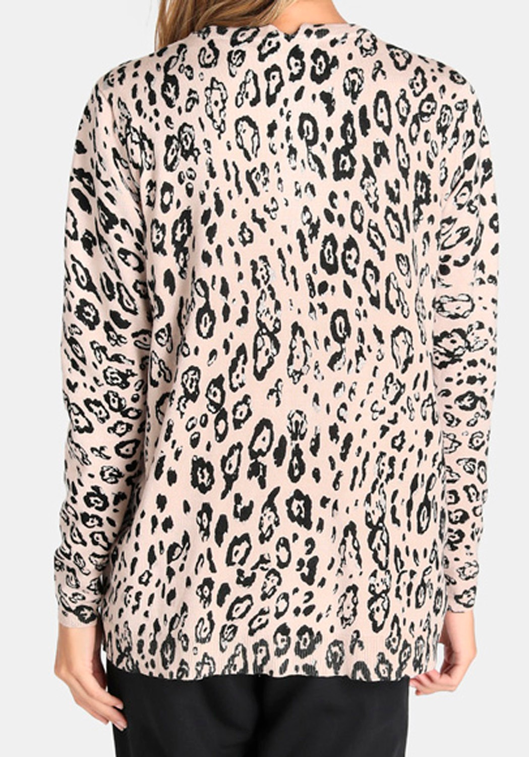 Twin-set animal-print Rosa