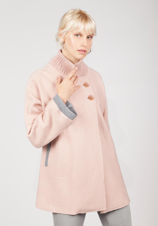 Capa rosa gris