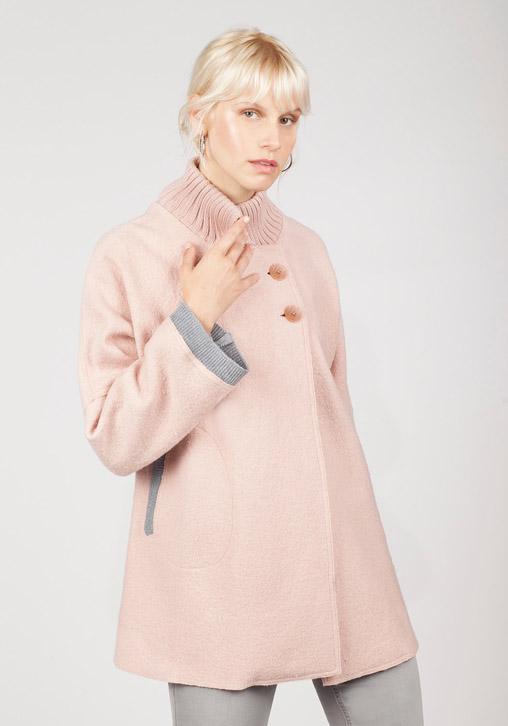 Capa rosa y gris