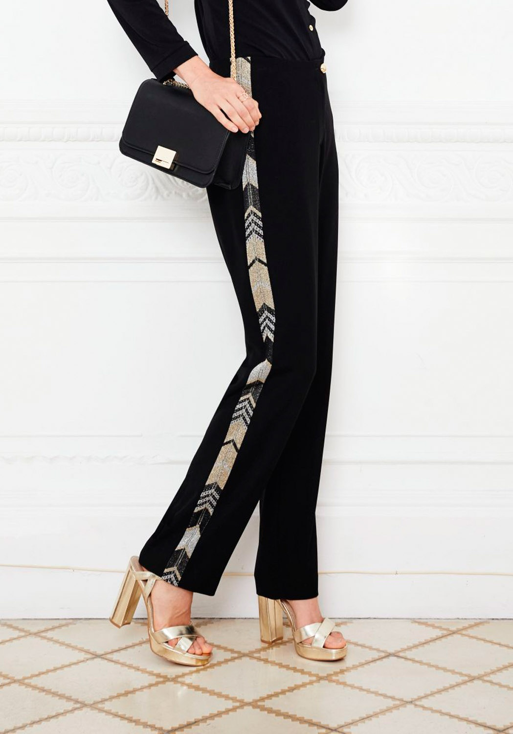 Pantalon Lurex