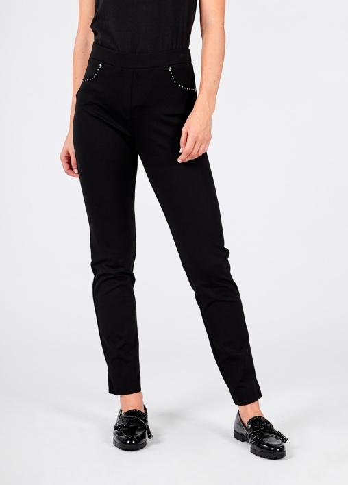 Pantalón Negro Tachas