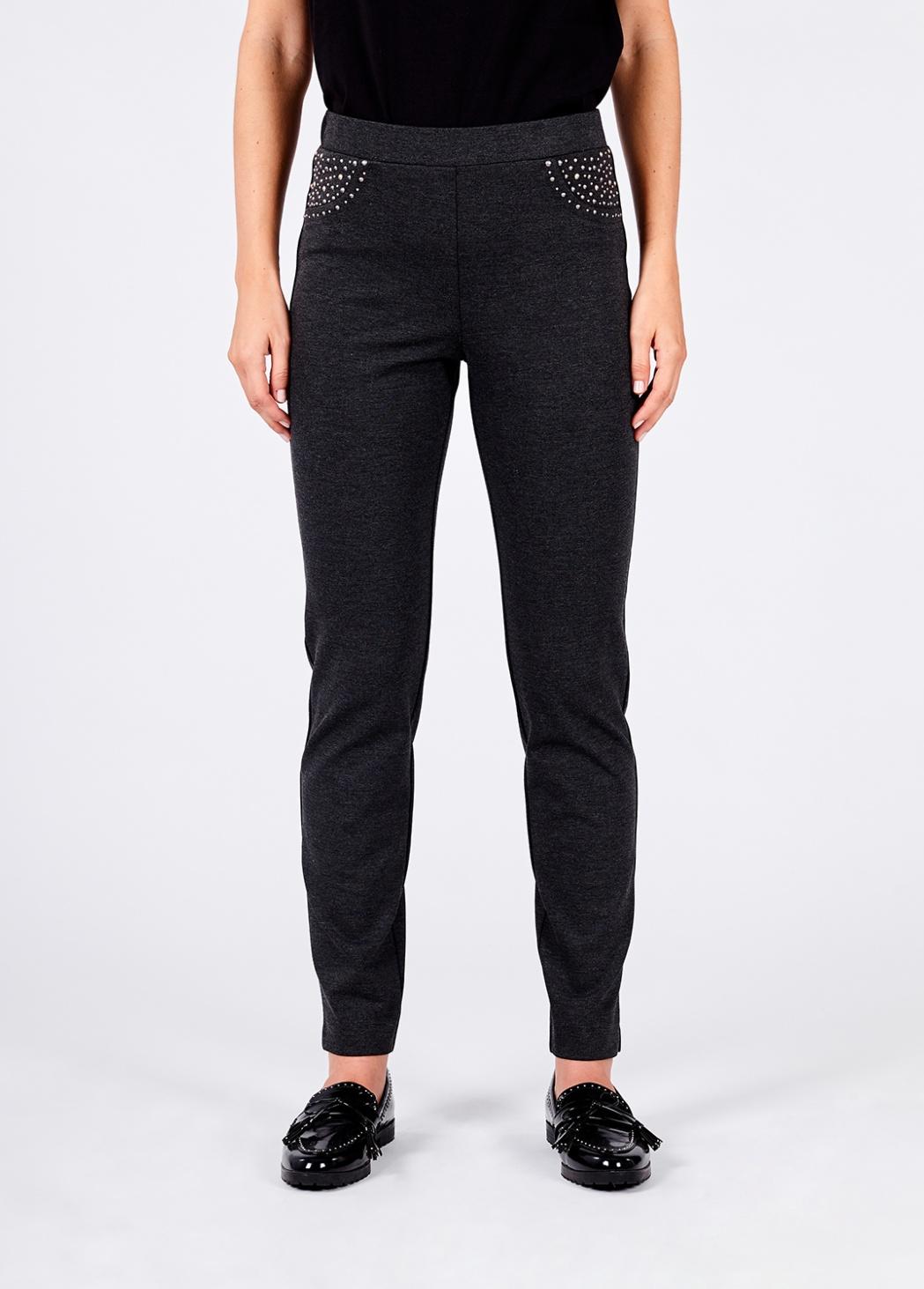 Pantalon Punto Gris