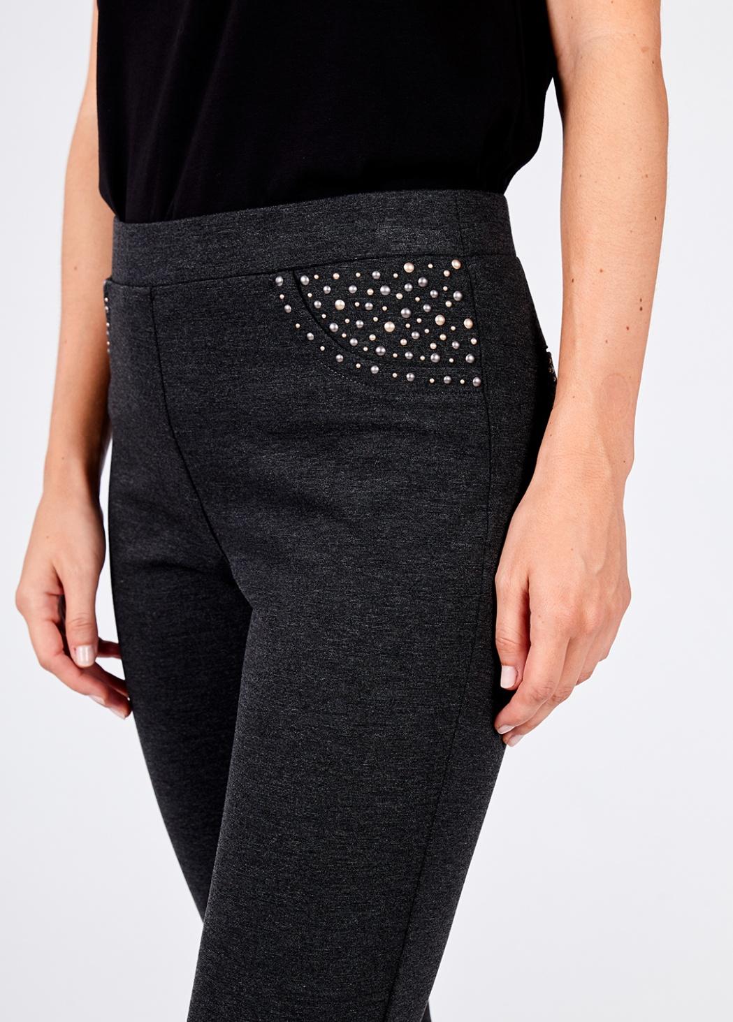 Pantalon Punto Gris 1