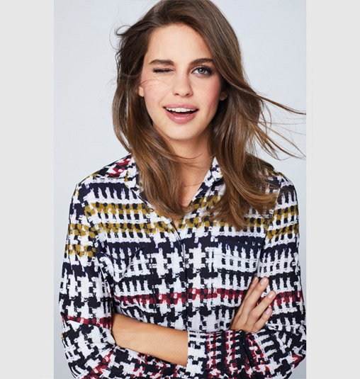 Blusa Tweed