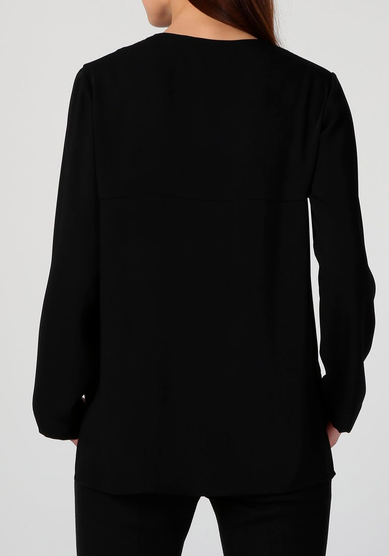 Blusa Cremallera Negra.