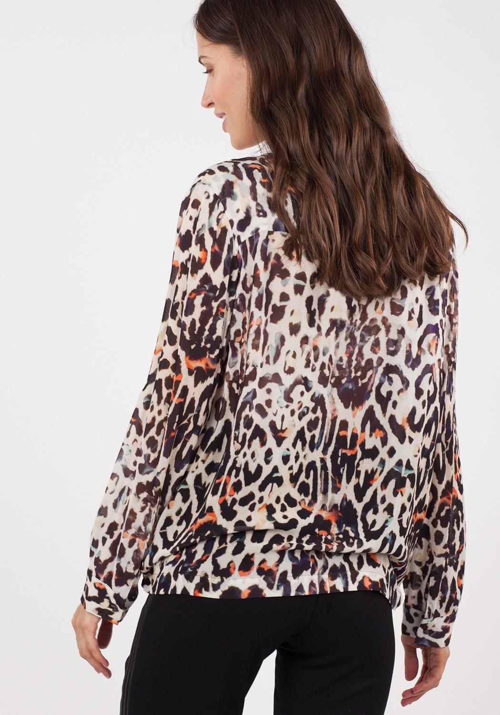 Blusa animal-print