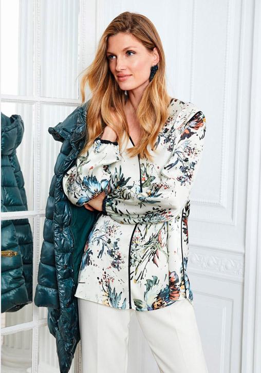 Blusa floral