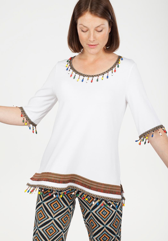 Camiseta etnica