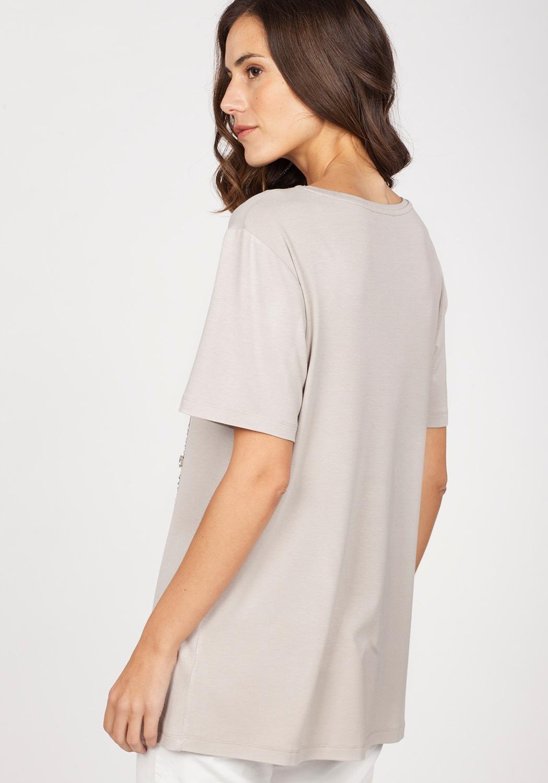 Camiseta strass