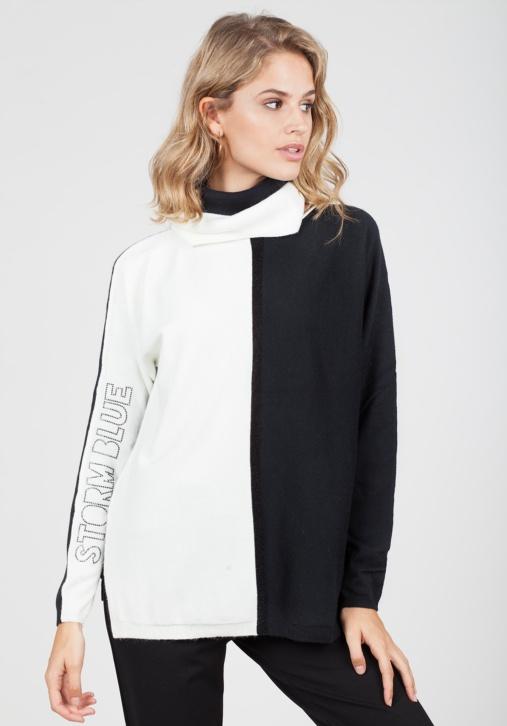 Jersey Bicolor Blanco