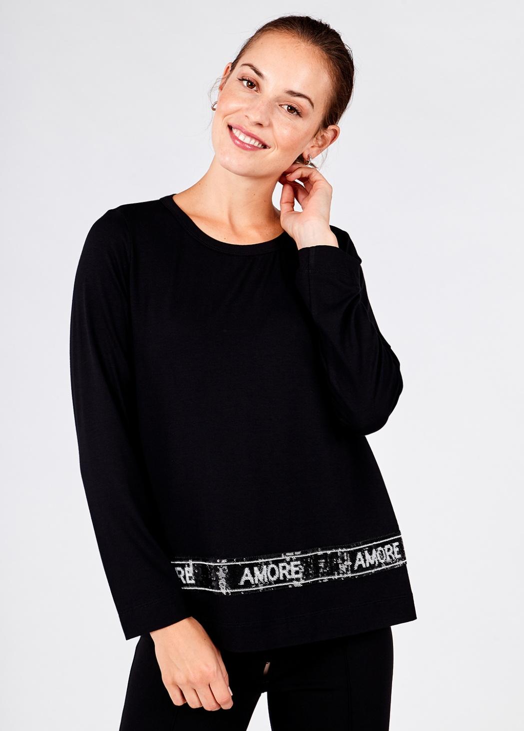 Camiseta Negra Pallete