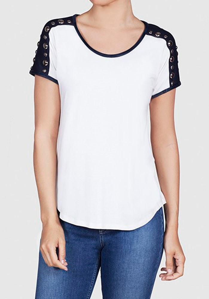 a2f35ed9e6 Camiseta Bicolor