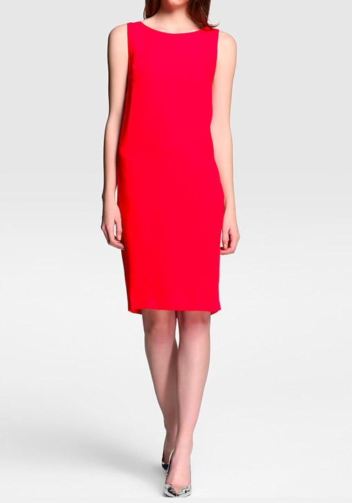 Vestido Lazo Rojo