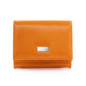 WALLET ORANGE GREEN