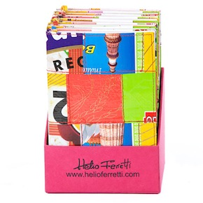 RECYCLED NOTEBOOKS HF