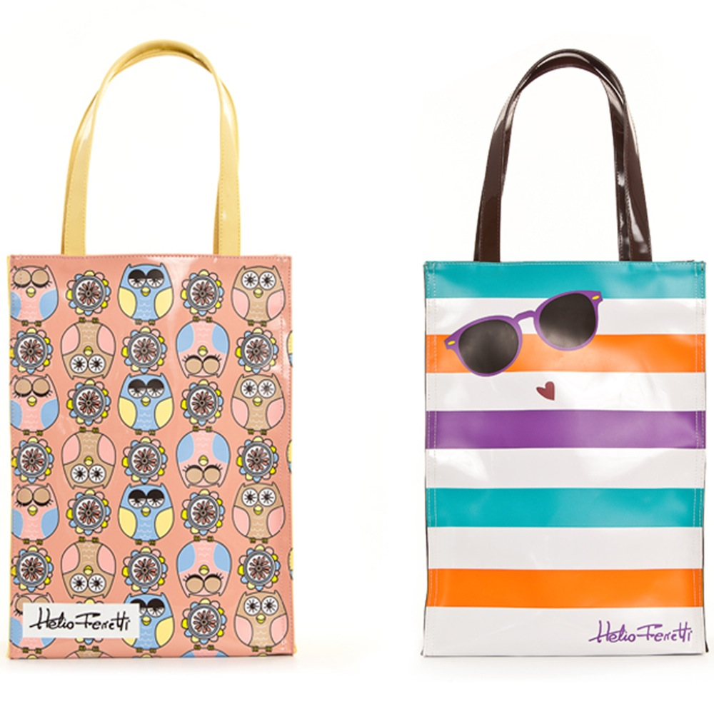 ASSORTED SHOPPING BAGS HF