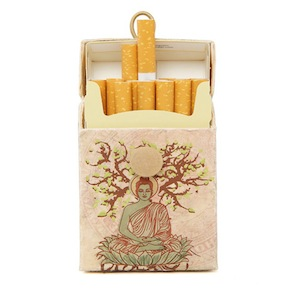 CIGARETTE CASE BUDHA HF - Item1