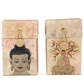 CIGARETTE CASE BUDHA HF - Item2