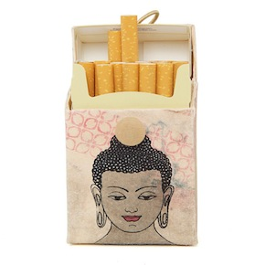 CIGARETTE CASE BUDHA HF - Item4