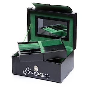 SQUARE JEWELRY BOX MUSIC&PEACE HF