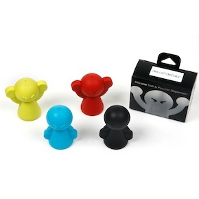 SALT PEPPER SILICONE SHAKER HF