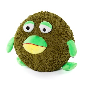 FLUFFY DOLL FROG ELEPHANT - Item1