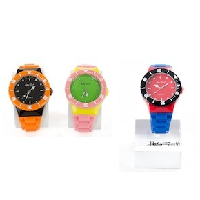 MULTI COLORED WATCHES HF - Item1