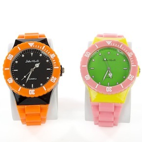 MULTI COLORED WATCHES HF