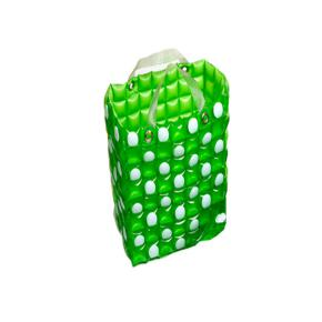 GREEN SQUARED INFLATABLE BAG HF
