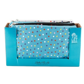 DOTS TOILET BAG HF - Item1