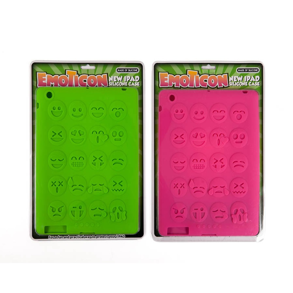 FUNDA IPAD EMOTICONO HF
