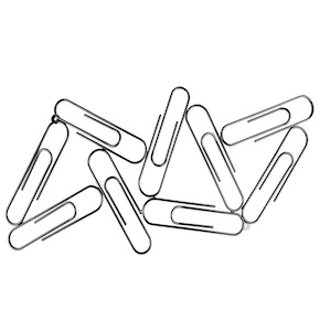 PHOTO FRAME PAPERCLIPS 9 HF