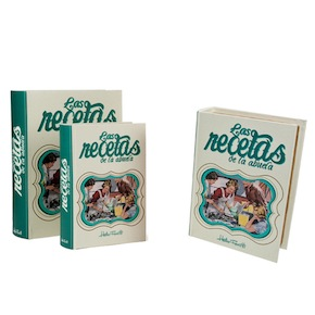 SET OF 2 RECIPES BOOK BOX HF