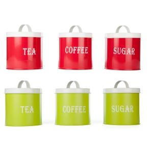 SET OF 3 TEA/SUGAR/COFFEE