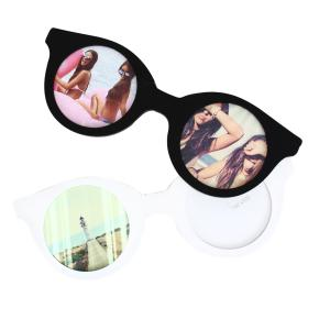 PHOTO FRAME ROUND SUNGLASSES HF