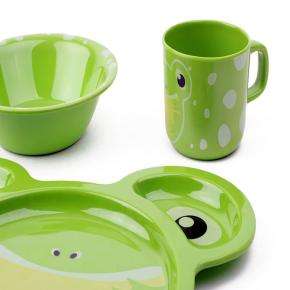 KIDS DISH SET FROG HF