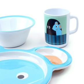 KIDS DISH SET MOUSE HF