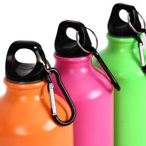 ALUMINUM WATER BOTTLE FLUOR HF - Item4