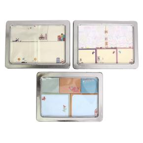 STICKY NOTES METAL BOX HF