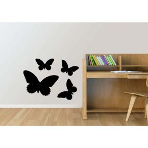 BLACKBOARD STICKER BUTTERFLY HF - Item1