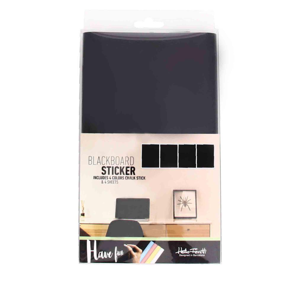 BLACKBOARD STICKER RECTANGLE HF